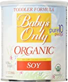 Baby's Only Toddler Formula, Soy, 12.7 Ounce (Pack of 6)