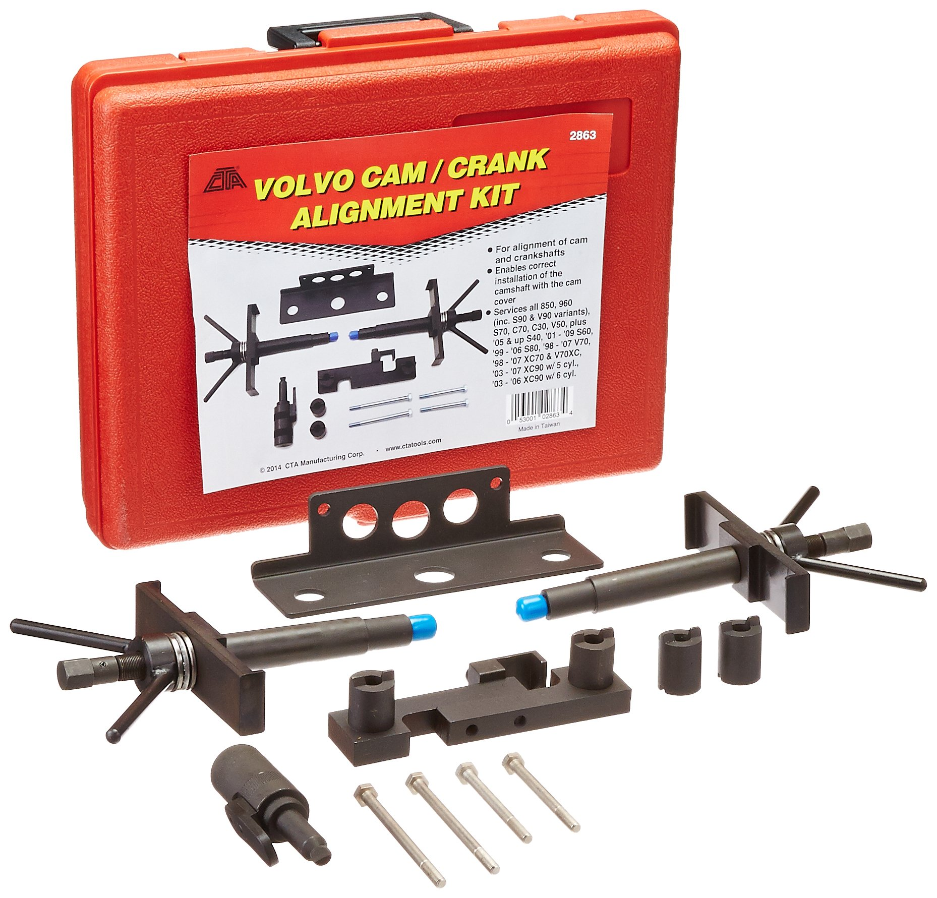 CTA Tools 2863 Cam and Crank Alignment Kit for Volvo