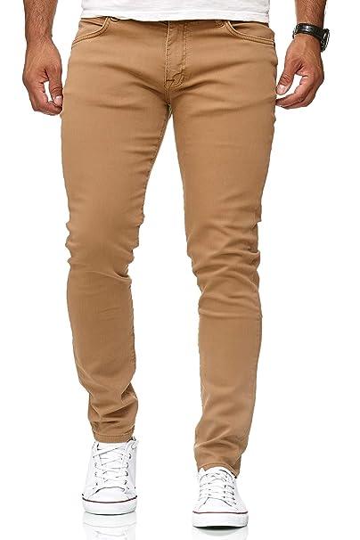 6a0f207ca3 Redbridge Hombres Jeans Slim-Fit Básico Chino Denim Elásticos Moda Vaquero   Amazon.es  Ropa y accesorios