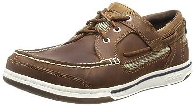 a6a6713c Sebago Men's Triton Three Eye FGL Boat Shoes: Amazon.co.uk: Shoes & Bags