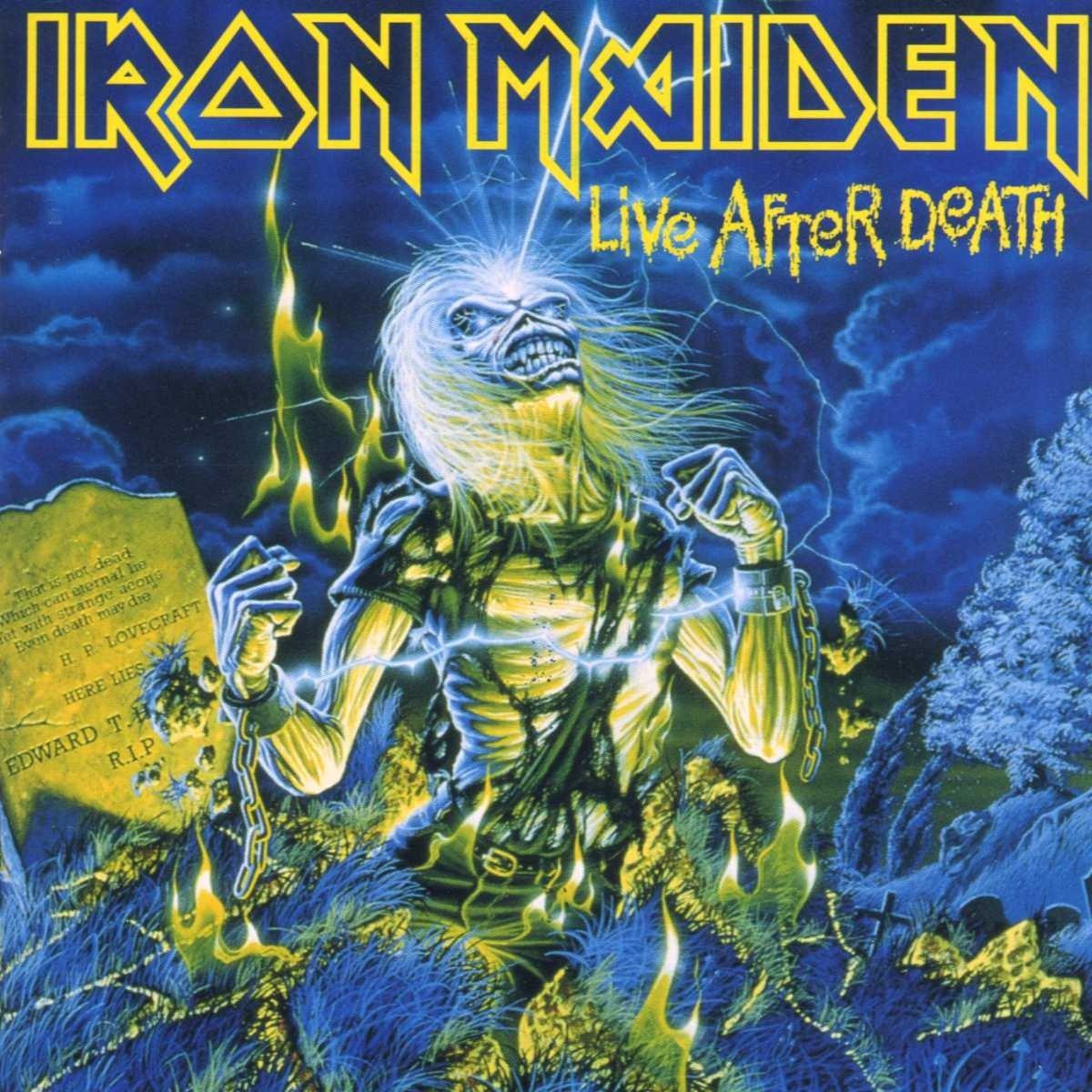 """Résultat de recherche d'images pour """"iron maiden live after death"""""""
