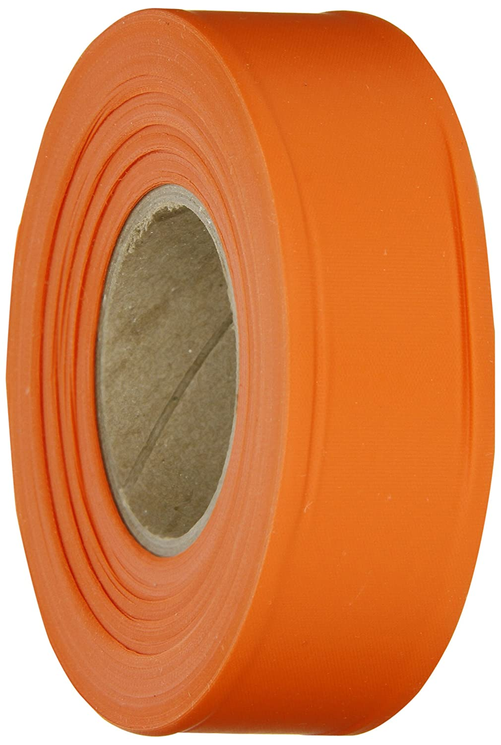 """Brady Orange Flagging Tape for Boundaries and Hazardous Areas - Non-Adhesive Tape, 1.188"""" Width, 300' Length (Pack of 1) - 58344"""