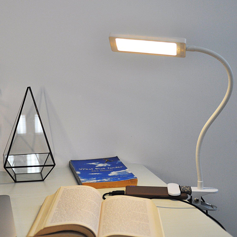 Eplze シンプルなアイケアLedデスクランプ調光可能な2レベルの明るさ B01LXK7WBO 21964