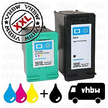 Variation vhbw - Set de cartuchos de tinta cartuchos de impresora ...