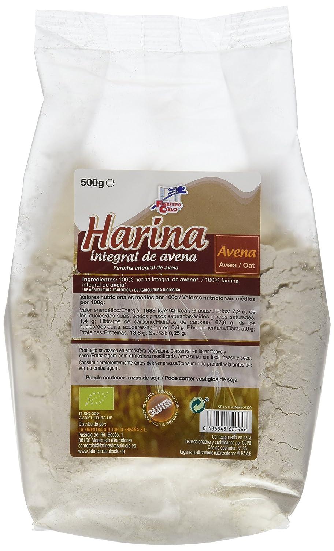 La Finestra Sul Cielo Harina Integral de Avena - Paquete de 6 x 500 gr - Total: 3000 gr: Amazon.es: Alimentación y bebidas