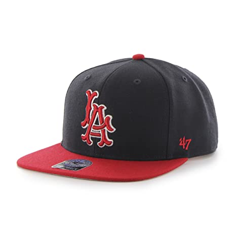 af0266e55fd Amazon.com    47 MLB Los Angeles Angels Sure Shot Two Tone Captain ...
