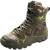 FREE SOLDIER Chaussures High-top militaire pour homme tactique Bottes de randonnée à lacets travail Combat tous les terrains résistante à l'usure Bottes 3 couleurs
