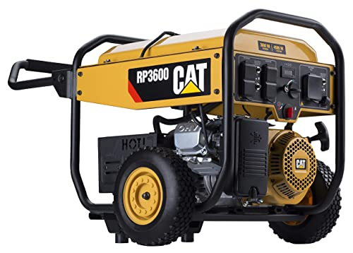 Cat RP3600 3600 Running Watts 4500 Starting Watts Gas Powered Portable Generator 502-3684