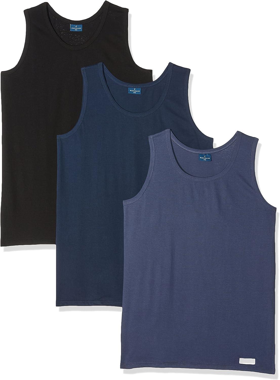 Navigare 511, Camiseta de Tirantes Para Hombre, Pack de 3