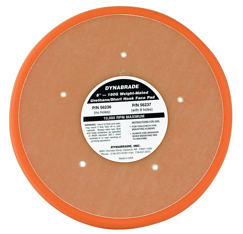 Dynabrade 56236 Non-Vacuum Disc Pad, 8-Inch Diameter