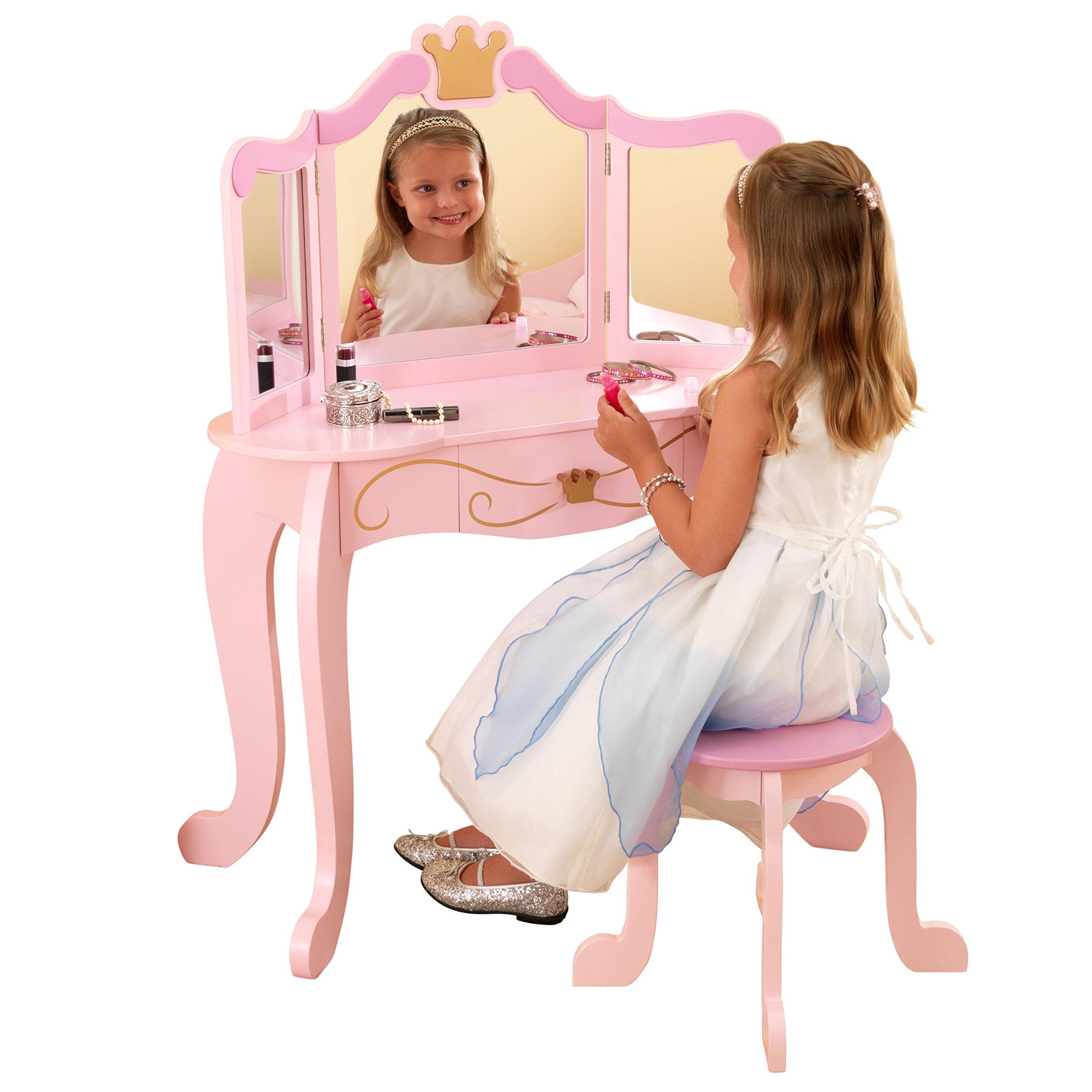 Galleon Kidkraft Princess Table Amp Stool