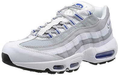 Basket nike air max 95 essential 749766 104 blanc Nike