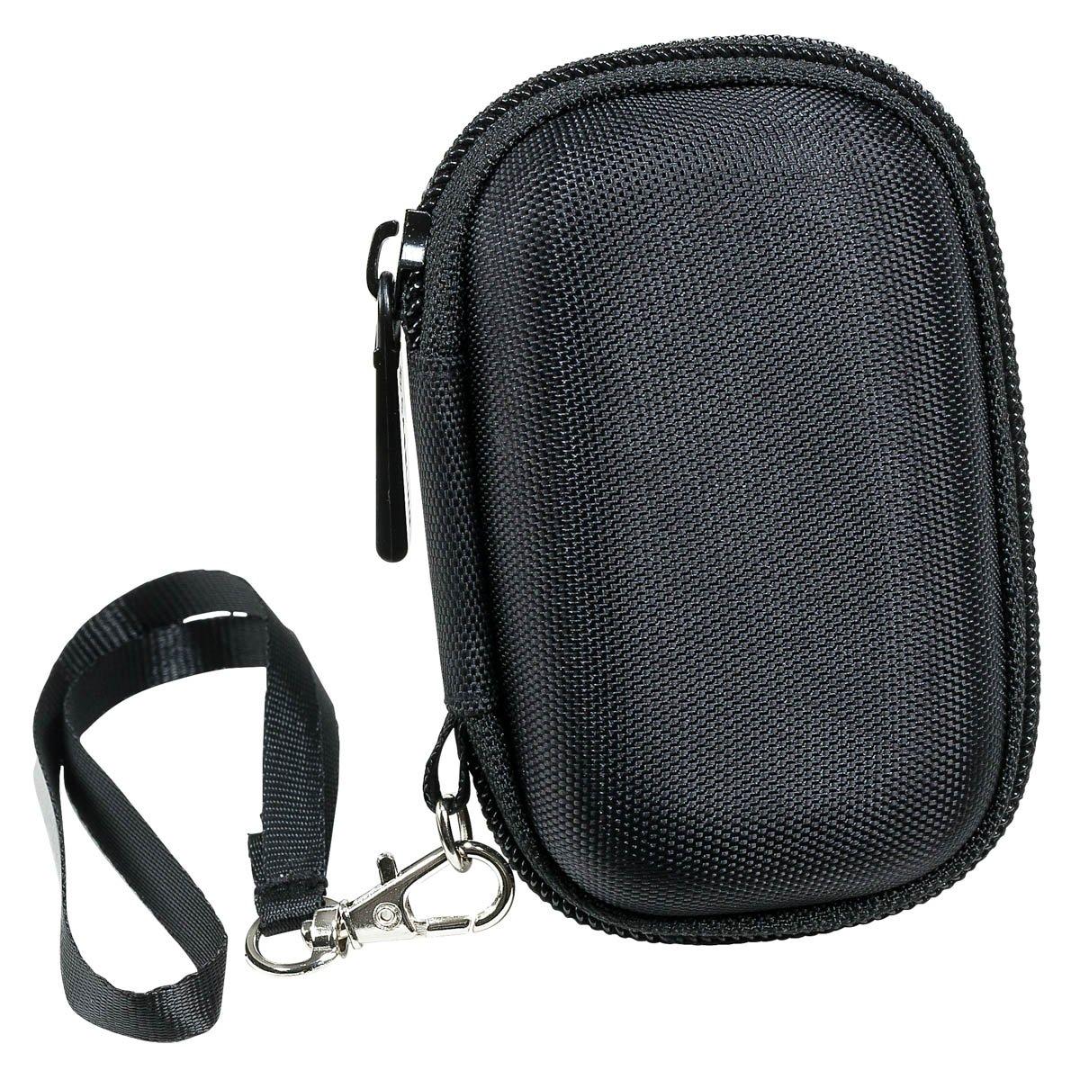 Caseling Carrying Hard Case for Sandisk Clip Jam / Sansa Clip Plus / Clip Sport MP3 Player. - Apple Ipod Nano, Ipod Shuffle. – Black