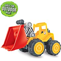 Coolle Sandbox Toy Construction Vehicles | Beach Toys Truck | Sand Toy Trucks | Big Truck Toy Set | Engineering Car for Kids Toddlers Boys Girls Great Outdoor Play Ages 3+ (Bulldozer)