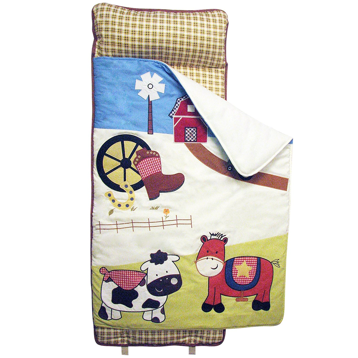 SoHo Nap Mat , Farmland Ranch (All Hand Embroidery) by Ellie and Luke (Image #2)