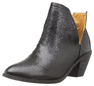 NYLA Womens Aztex Ankle Bootie Black Size 80