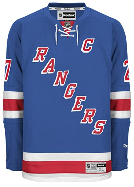 Reebok Ryan McDonagh York Rangers NHL Blue Official Premier Home Jersey for  Men (3XL) d14ca621f