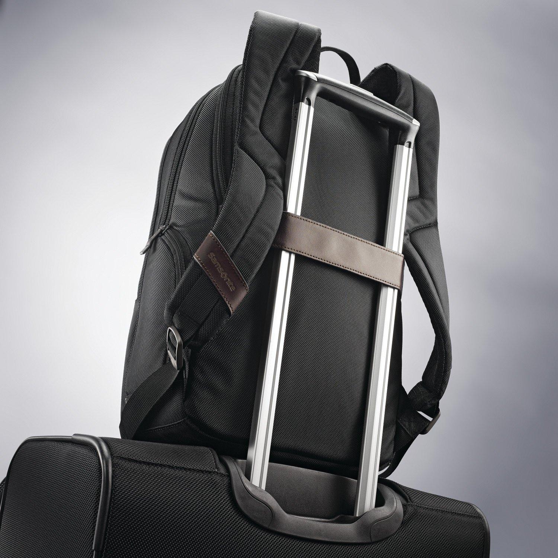 Samsonite Komni Small Backpack, Black/Brown, One Size by Samsonite (Image #7)