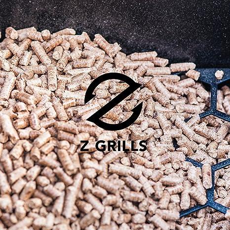z parrillas pellet parrilla y barbacoa con controles digitales, 700 SQ superficie para asar: Amazon.es: Jardín