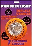 Light Up Jack O Lantern Halloween Multi Colored Changing Pumpkin Light Flashing LED