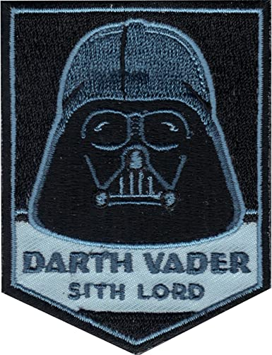 STAR WARS DARTH VADER SITH LORD IRON ON EMBROIDERED PATCH