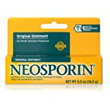 Neosporin Original  Ointment For 24-hour Infection Protection, .5 Oz