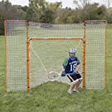 EZGoal Monster Lacrosse Backstop Rebounder, 11' x 8', Orange