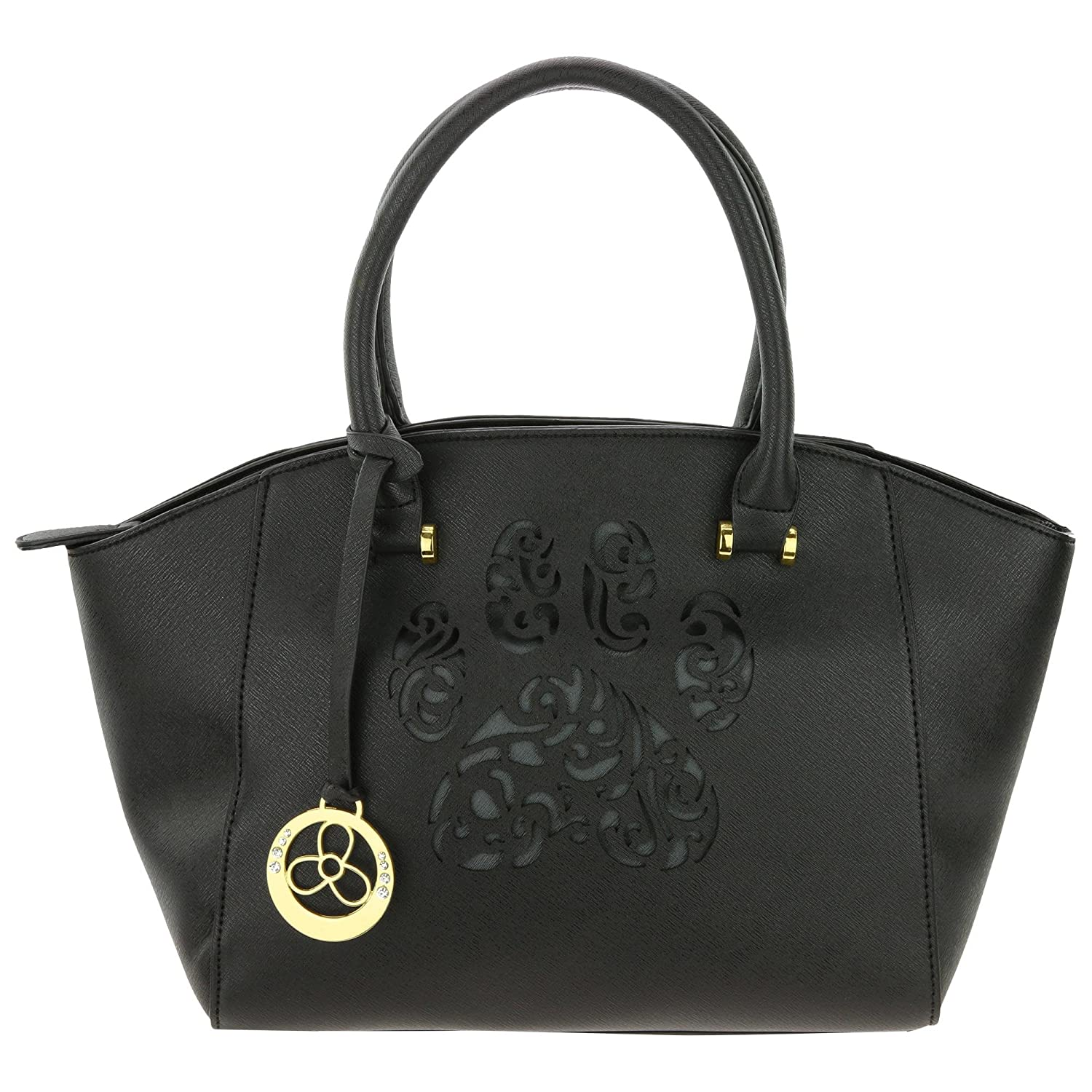 Pawsitively Beautiful Handbag (Black)  Handbags  Amazon.com e37f936c00027