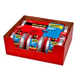 Scotch Heavy Duty Shipping Packaging Tape,  6 Rolls with Dispenser, Clear, 1.88 inches x 800 inches, 1.5 inch Core, Great for Packing, Shipping & Moving