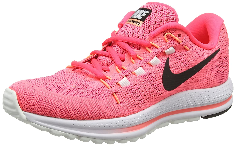 NIKE Women's Air Zoom Vomero 12 Running Shoe B00EOSFG4O 6.5 B(M) US|Lava Glow/Black-racer Pink