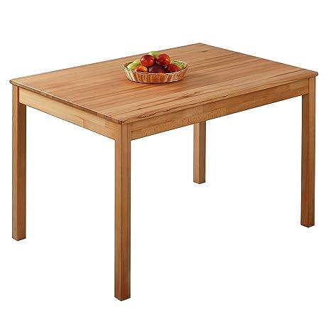 Tavolo da pranzo in legno di faggio 100% FSC Tomas (110 x 75 x 75 cm ...