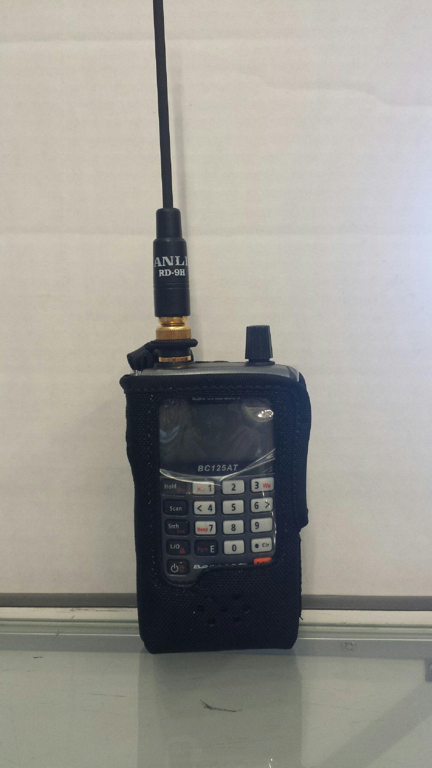 Custom Nylon Scanner Case For UNIDEN BCD325P2, BC-125AT, BC-95XLT, BC75XLT, SC-230 Radio Scanner by Case