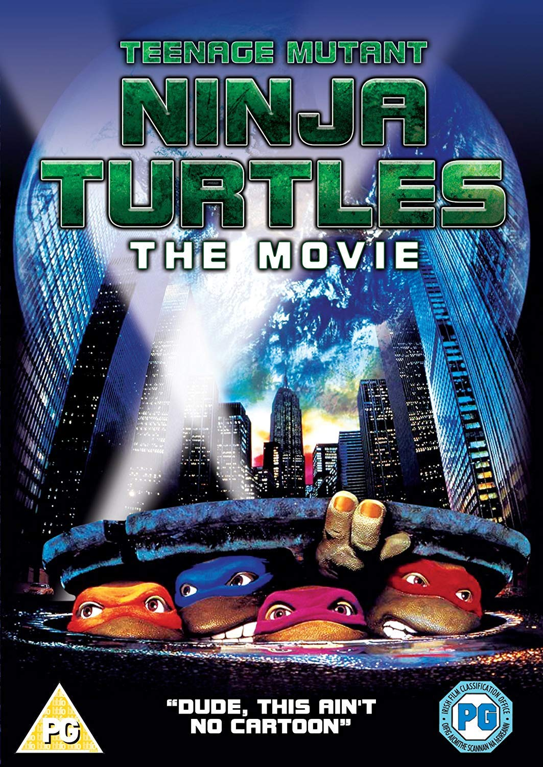 Teenage Mutant Ninja Turtles - The Original Movie DVD by ...
