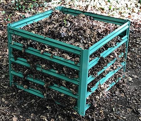 Selections - Compostador de jardín (90 x 70 cm), Color Verde ...