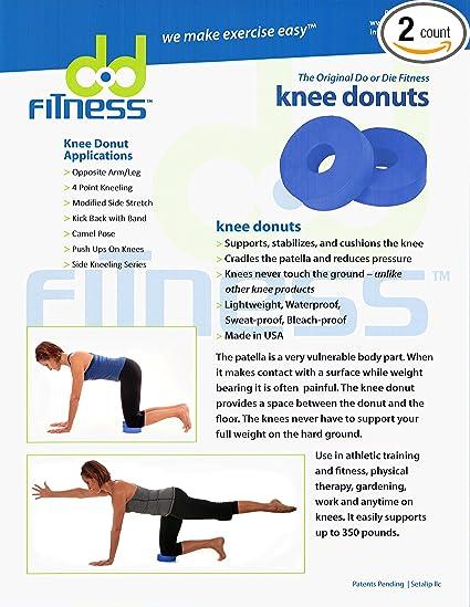 Amazon.com: DOD Fitness rodilla Donuts: Cojín de apoyo y las ...