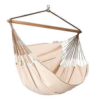 la siesta habana nougat   organic cotton lounger hammock chair amazon    la siesta habana nougat   organic cotton lounger      rh   amazon