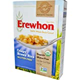Erewhon, Organic Crispy Brown Rice Cereal, Gluten Free, 10 oz (284 g) - 2pcs