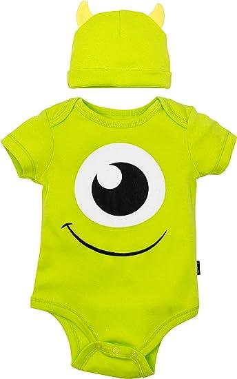 Disney Pixar Monsters Inc. Mike Wazowski - Body y Sombrero para ...