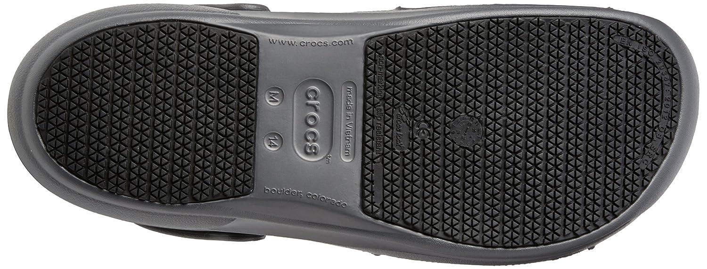 20182017 Shoes Crocs SureGrip Unisex Mario Batali Bistro Orange Slip Resistant Work Clogs Best Deals