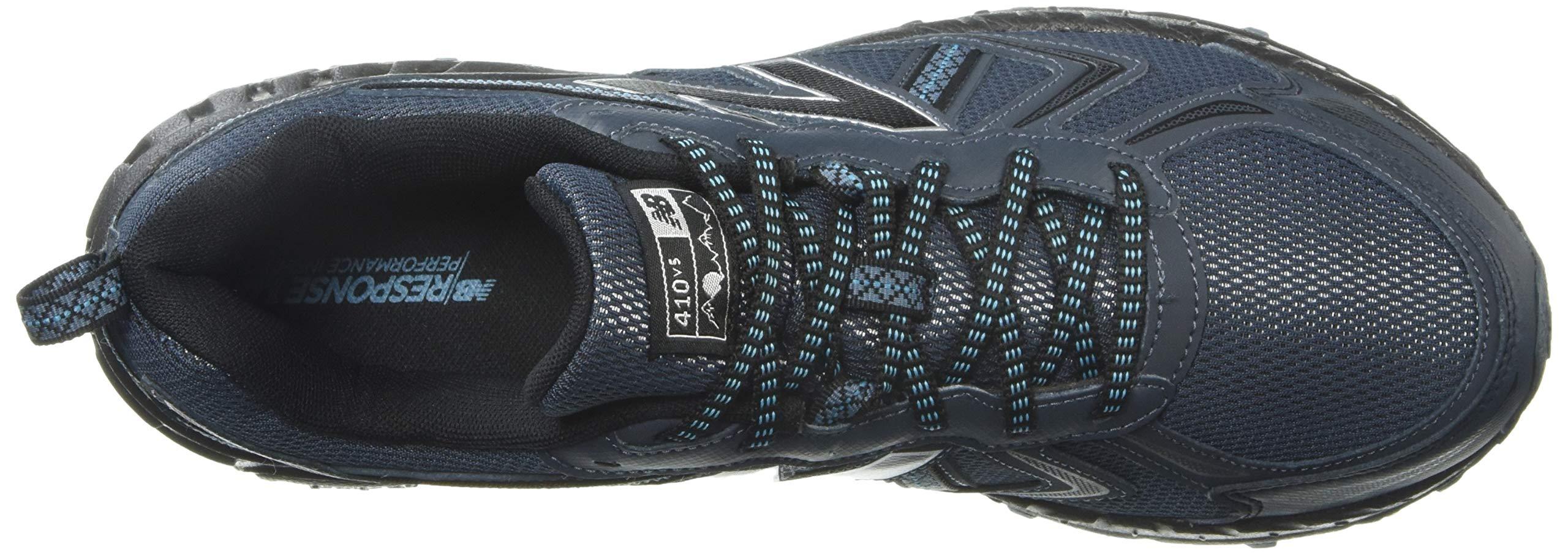 New Balance Men's 410v5 Cushioning Trail Running Shoe, Petrol/Cadet/Black, 7 D US by New Balance (Image #8)