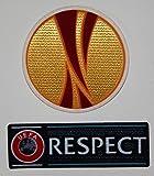 EUROPA LEAGUE & RESPECT Applique (Thermocollant / Transfert) IRON-ON PATCH