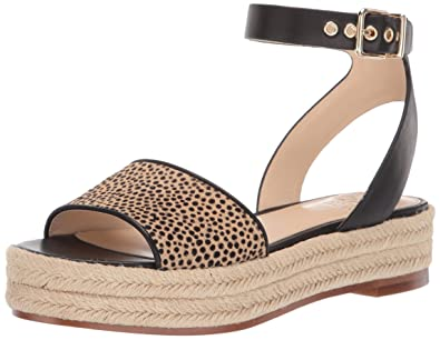 0119a50c723 Vince Camuto Women s Kathalia Espadrille Wedge Sandal Natural 5 Medium US