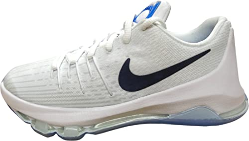 Nike KD 8 (GS), Zapatillas de Baloncesto para Niños, Blanco (White ...