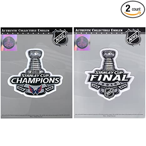 2018 Stanley Cup Final   NHL Washington Capitals Champions Jersey Patch  Combo 289c0ead46c6