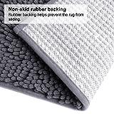 VDOMUS Soft Microfiber Shag Bath Rug, Extra