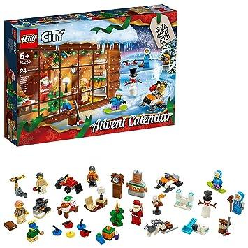 Calendrier Lego City.Lego City Le Calendrier De L Avent Lego City 5 Ans Et Plus Jeu De Construction 234 Pieces 60235
