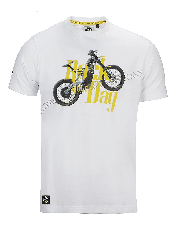 Camiseta Manga Corta Hombre, Rock Day, Bultaco: Amazon.es: Ropa y ...