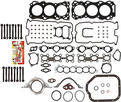 Cylinder Head Gasket Bolts kit For 02-09 Nissan Altima Maxima 3.5L VQ35DE