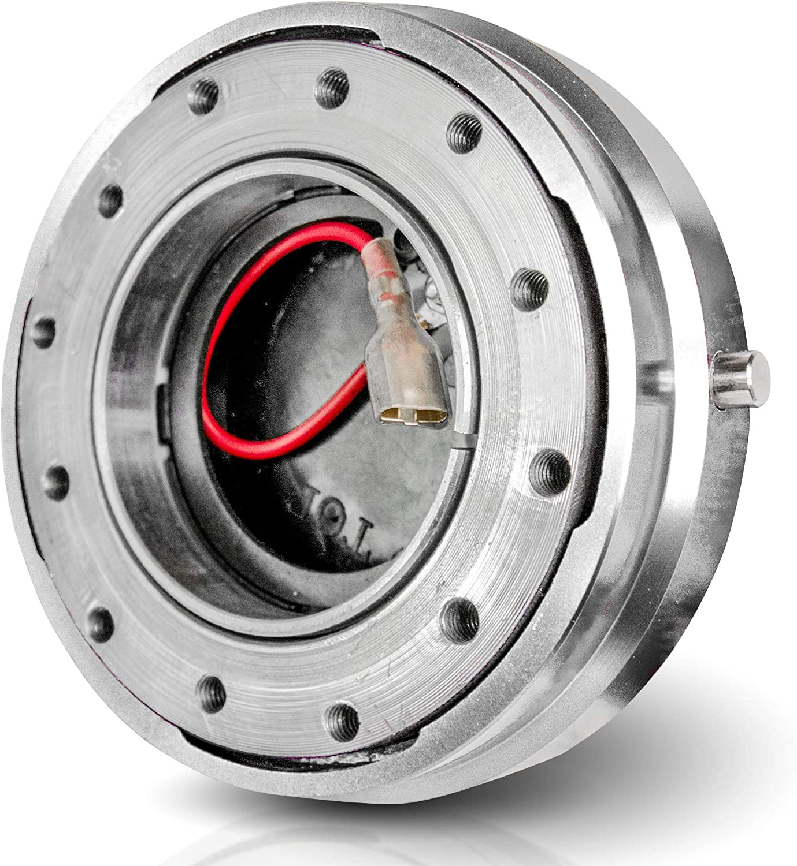 black 14// 35.6 cm in diameter Modification of the car Racing steering wheel OMP matte The modified car steering wheel