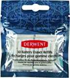 Derwent Replacement Erasers, Pack, 30 Count (2300023)